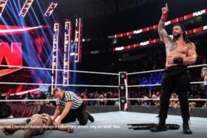 Roman Reigns dominert WWE Raw