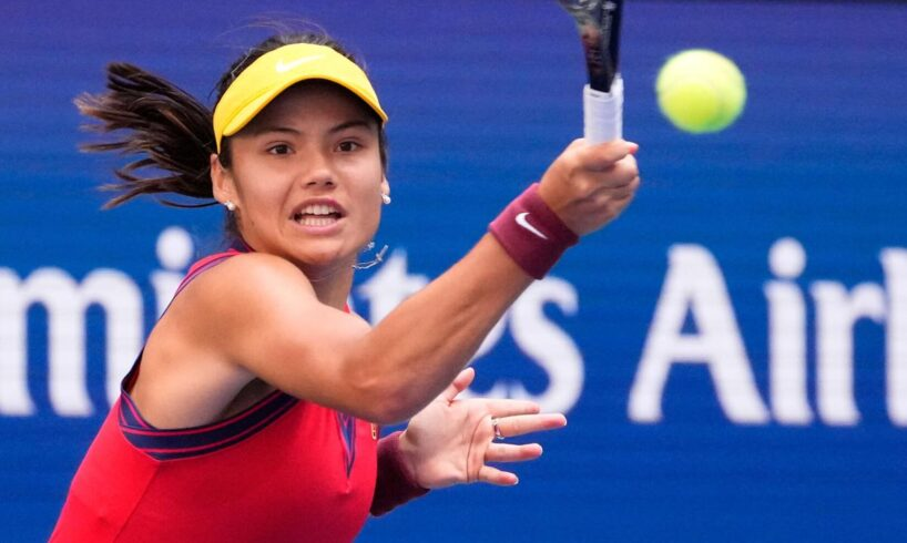 Tennis world captivated by US Open's young star