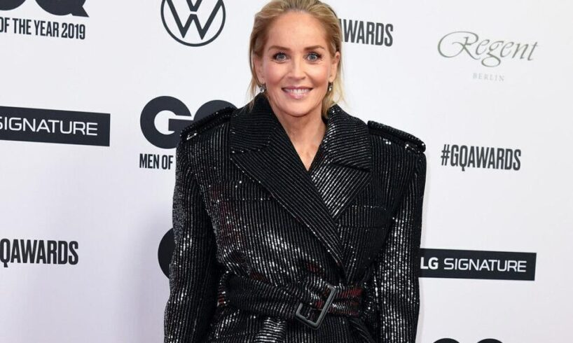 """Sharon Stone says organ donation is the """"salvation"""" of her family after her nephew's death"""