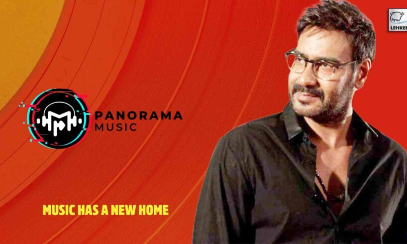 Bollywood Star Ajay Devgn Officially Launches Panorama Music