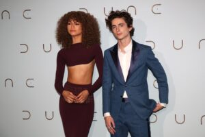 Zendaya Hits A New Kind Of Fashion High On The 'Dune' Promo Trail