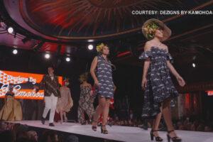 Native Hawaiian designer hits catwalk in New York Fashion Weeks US Open final in stunning fashion