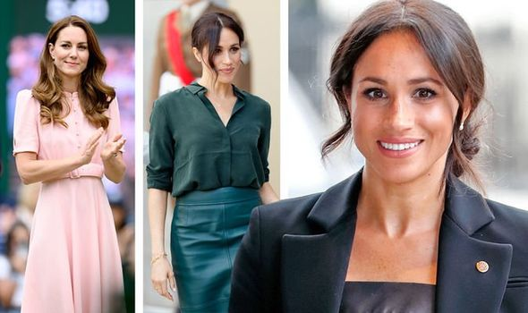 Meghan Markle beats Kate as royal with 'biggest fashion influence'