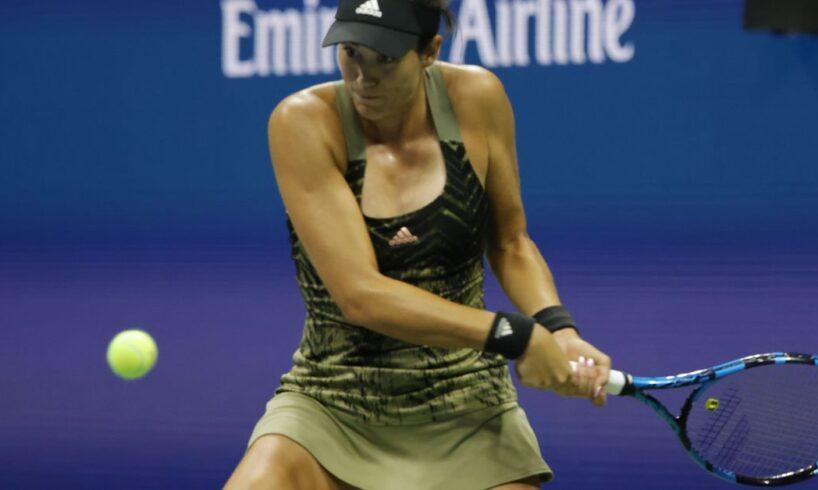 Struggling Krejcikova halts Muguruza comeback to reach quarters