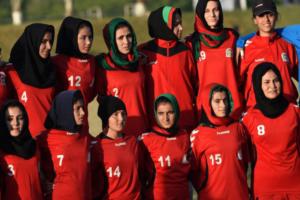 Afghan women's soccer team arrives in Pakistan - information minister
