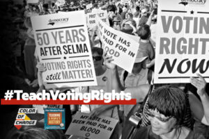 Students should advocate for voting rights