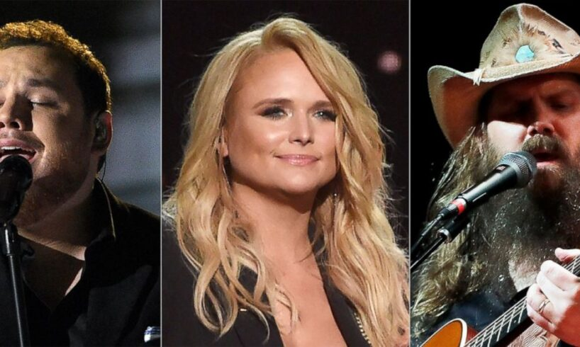 Chris Stapleton and Eric Church Share Top CMA Nominations