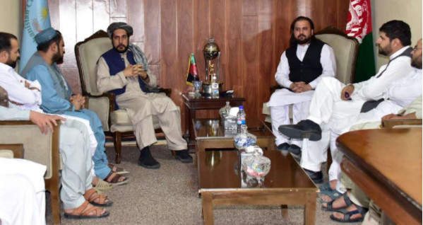 THIS man appointed chairman of the Afghanistan Cricket Board after Taliban takeover