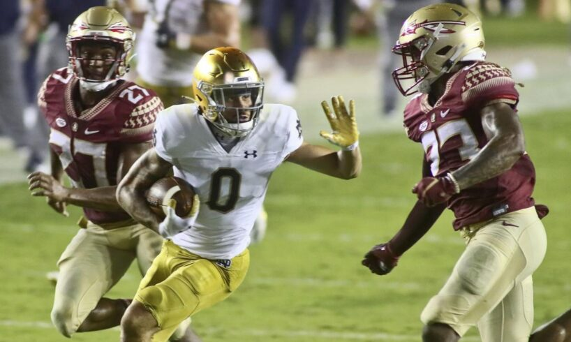 Notre Dame escapes with OT victory Florida State