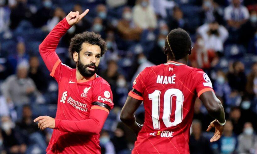 Liverpool beat Porto 5-1 in the Champions League